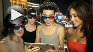 Melanie Iglesias gives fans their first look at WMB 3D