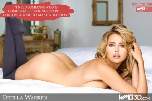 wmb-3d-worlds-most-beautiful-estella-warren-naked-nude-socks-bed-sexy